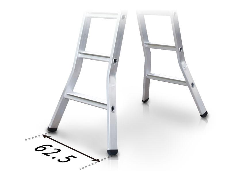 梯子打彎處理