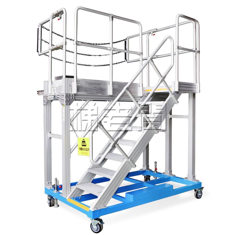 梯老闆-鋁合金移動式工作平台梯