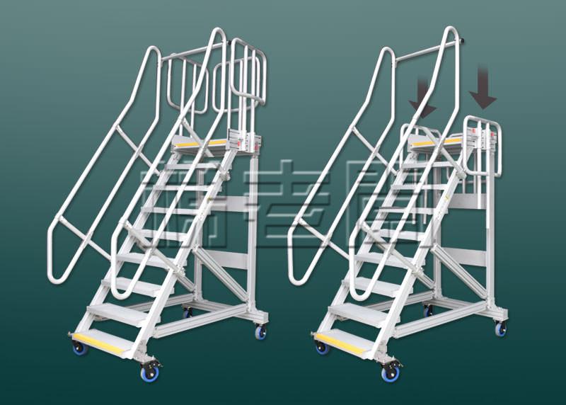 伸降護欄說明-梯老闆訂製梯具