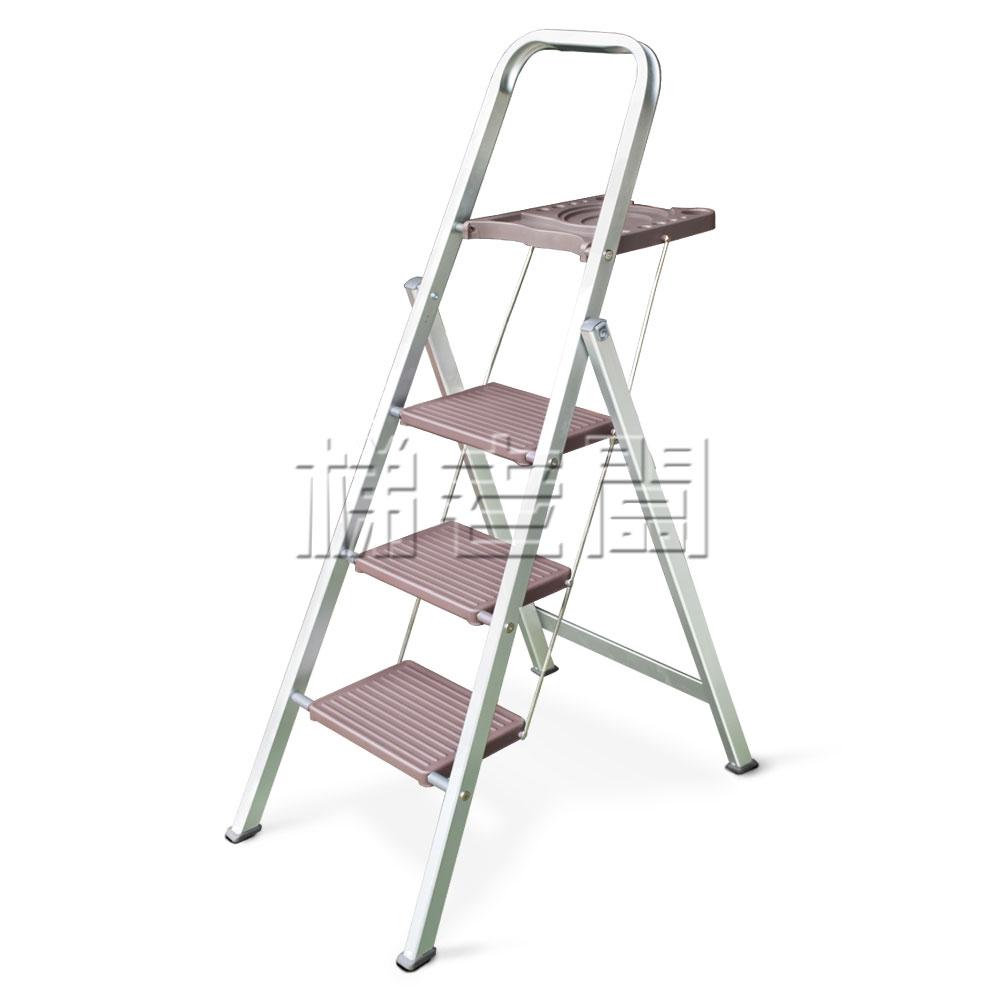 梯老闆三階鋁折踏台cy-lp360t